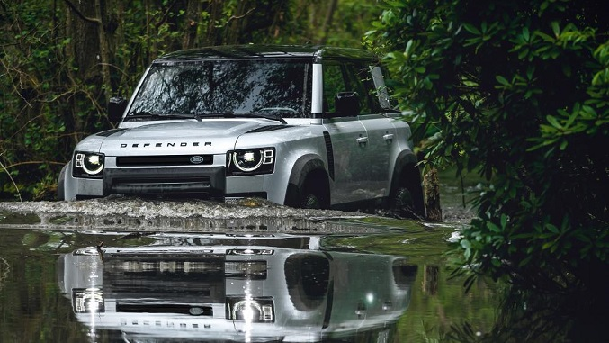 The New Land Rover Defender Makes Its Official International