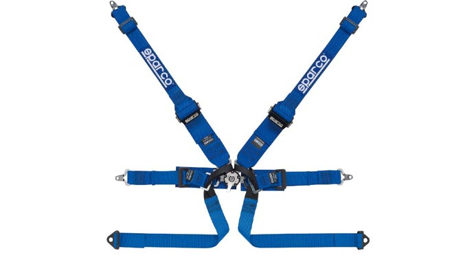 Sparco 6 point HANS Formula Harness
