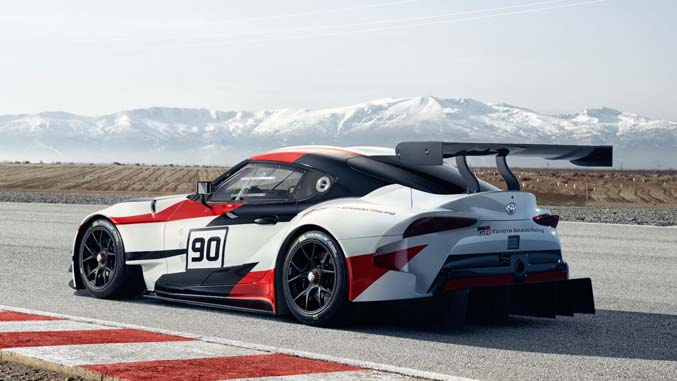 It's Back! Toyota Reveals Supra Race Car Concept