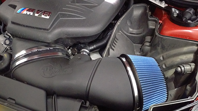 afe intake, bmw m3, winding road racing