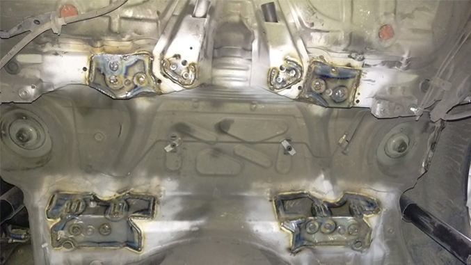 BMW e46 Subframe Reinforcement