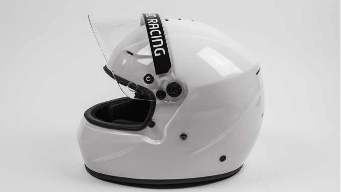 Black Armor Circuit Pro 2 Composite Helmet at Winding Road Racing