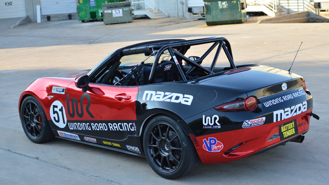 Winding Road Racing Race Car Builds Mazda MX-5 Cup Car