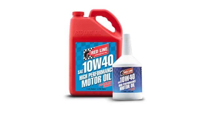 Red line 10W40 Motor Oil Winding Road Racing